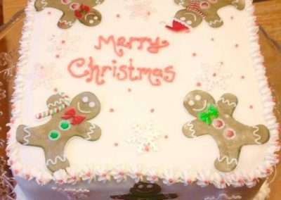 Wickstead's Eat Me Customer's Photo Gallery - Gingerbread Christmas Cake