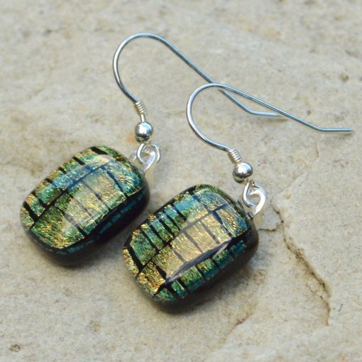 Wickstead's-AW-Designs-UK-Golden-Copper-Sterling-Silver-Dichroic-Glass-Drop-Earrings-(2)