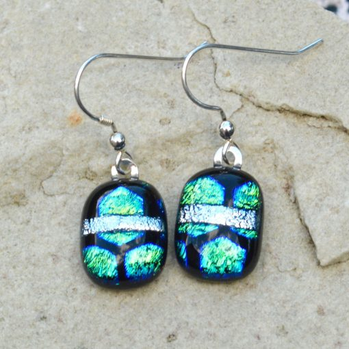 Wickstead's-AW-Designs-UK-Ocean-Blue-Greens-Sterling-Silver-Dichroic-Glass-Drop-Earrings-(1)