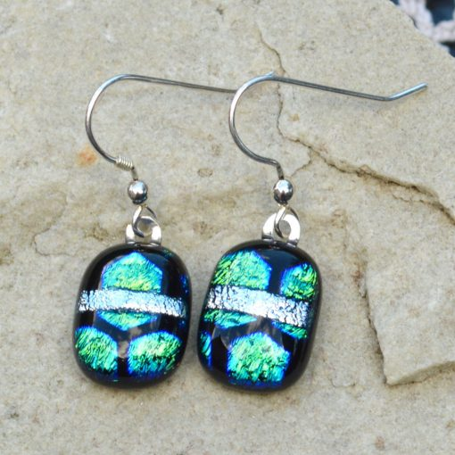 Wickstead's-AW-Designs-UK-Ocean-Blue-Greens-Sterling-Silver-Dichroic-Glass-Drop-Earrings-(2)