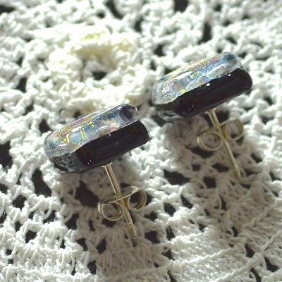 Wickstead's-AW-Designs-UK-Rainbow-Metallic-Sterling-Silver-Dichroic-Glass-Stud-Earrings-(5)