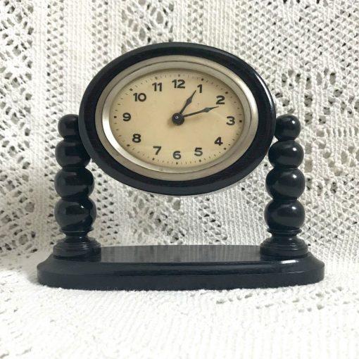 Wickstead's-Antique-1900s-Ebony-Mantel-Clock-Casing-(1)