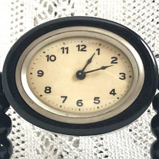 Wickstead's-Antique-1900s-Ebony-Mantel-Clock-Casing-(2)