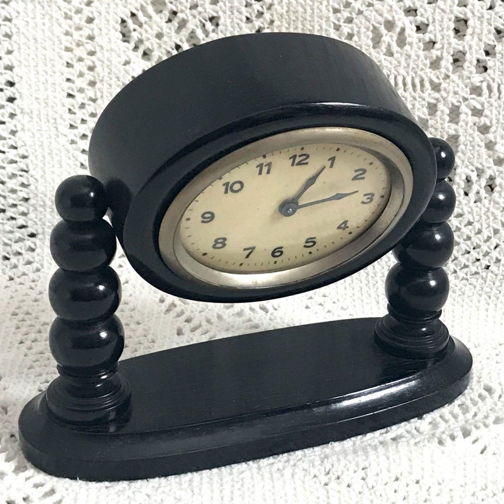 Wickstead's-Antique-1900s-Ebony-Mantel-Clock-Casing-(3)