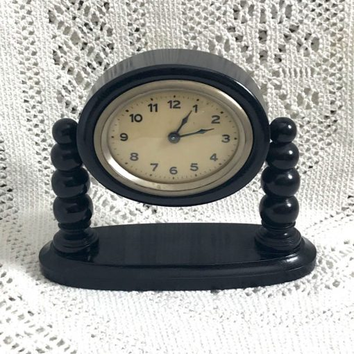 Wickstead's-Antique-1900s-Ebony-Mantel-Clock-Casing-(7)