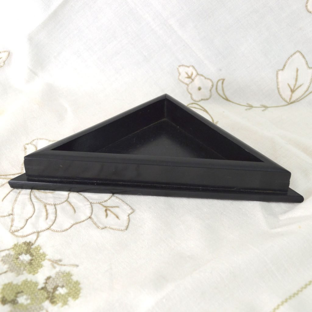 Wickstead's-Antique-Real-Ebony-Wood-Small-Triangle-Corner-Desk-Valet-Tray-(2)
