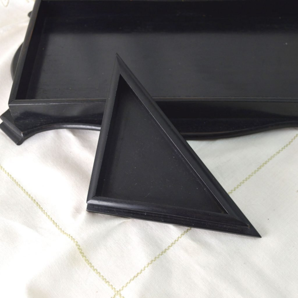 Wickstead's-Antique-Real-Ebony-Wood-Small-Triangle-Corner-Desk-Valet-Tray-(4)