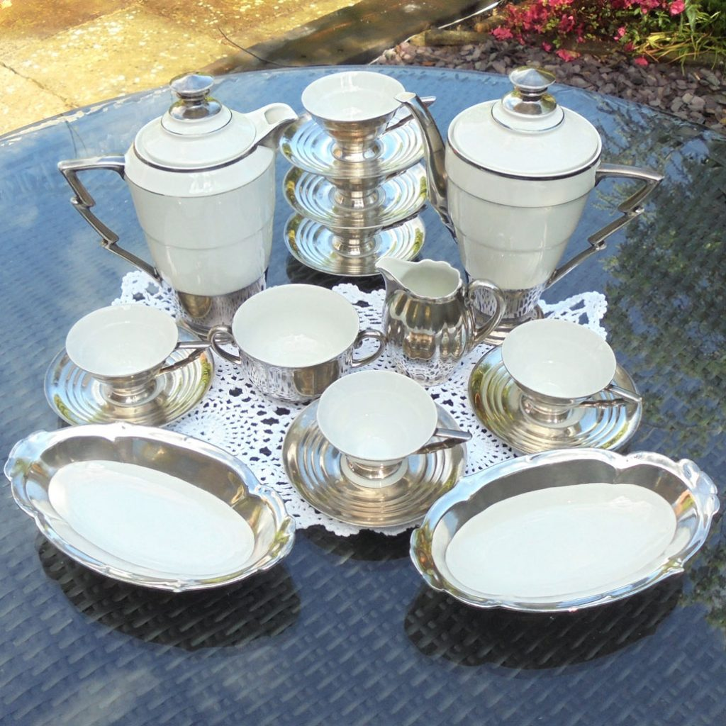 Wickstead's-Art-Deco-Sterling-Silver-Porcelain-Coffee-Set-with-Lightening-Bolt-Handles-(1)