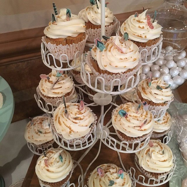 Wickstead's-Customer-Photo-of-our-Teeny-Tiny-Cotton-Candy-Feathers-on-Cupcakes