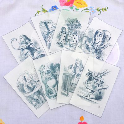Wickstead's-Eat-Me-Edible-Black-&-White-Alice-in-Wonderland-Illustrations-x-8-(7)