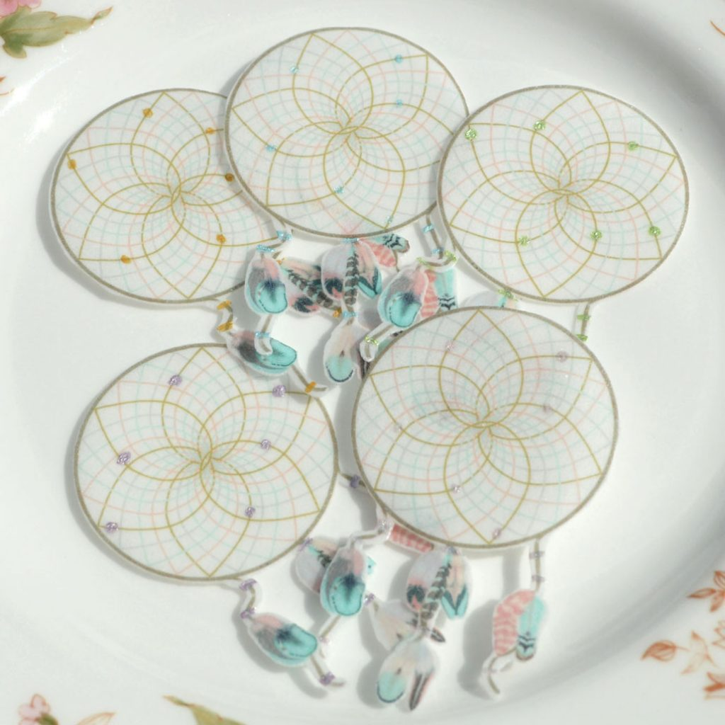 Wickstead's-Eat-Me-Edible-Cotton-Candy-Dreamcatchers-Small-with-metallic-detailing-(1)
