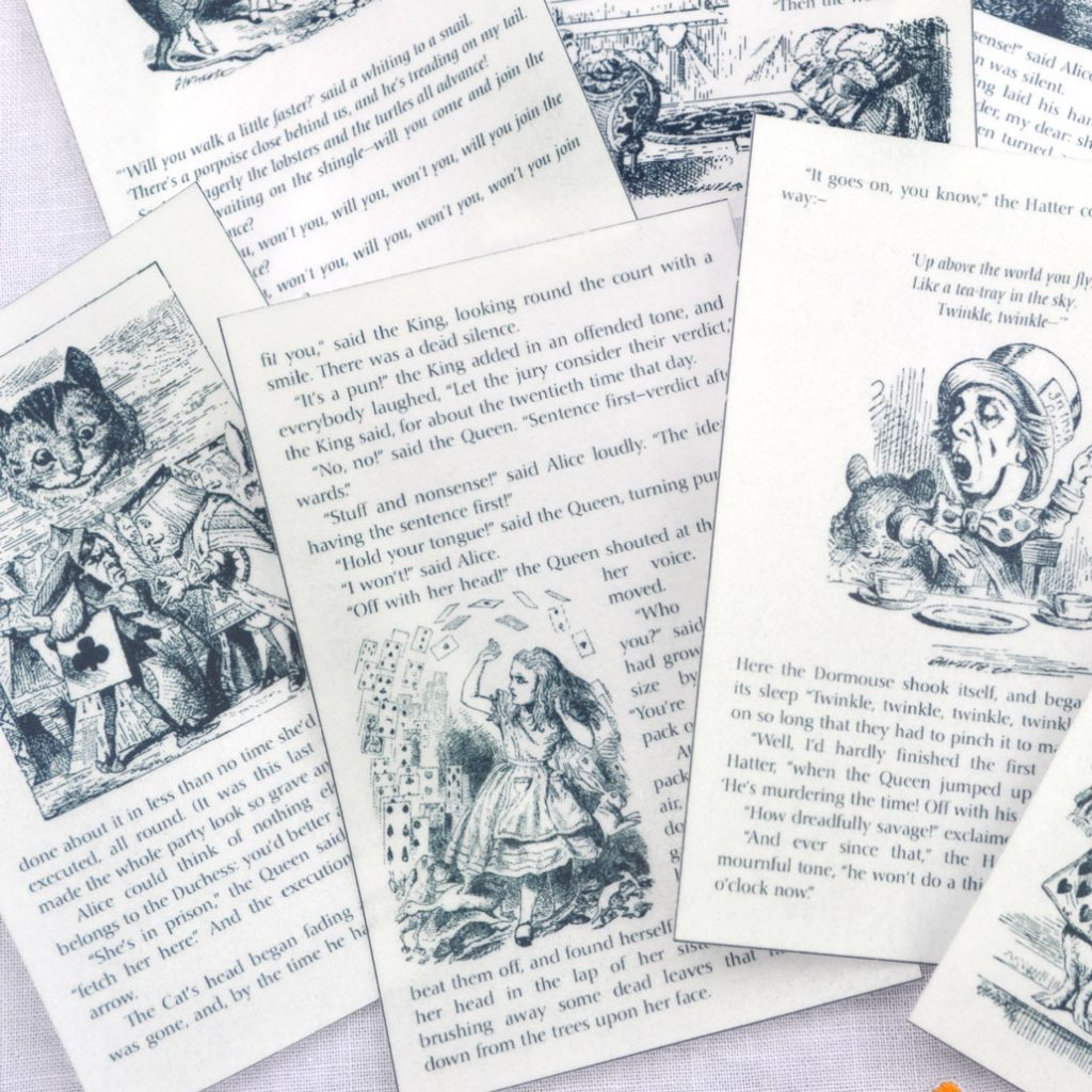 Wickstead's-Eat-Me-Edible-Images-Alice-in-Wonderland-Set-2-Black-White-Book-Pages-(5)