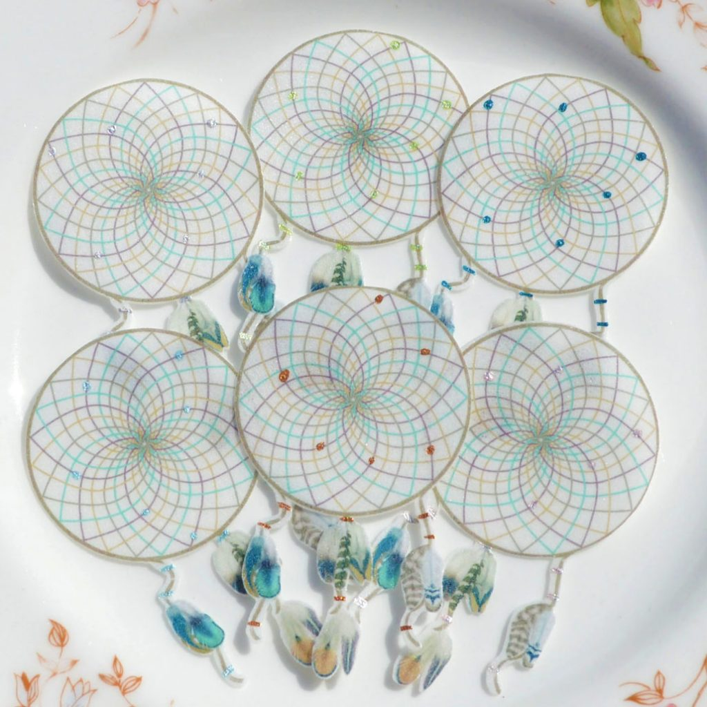 Wickstead's-Eat-Me-Edible-Images-Boho-Natural-Dreamcatchers-Small-(10)