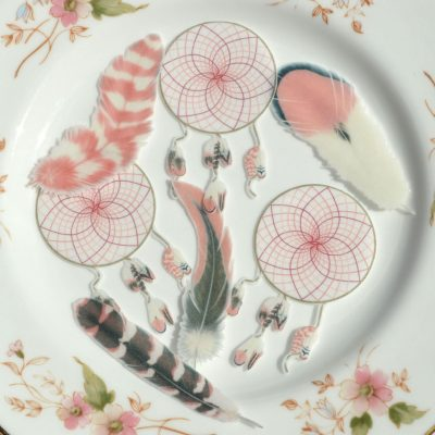 Wickstead's-Eat-Me-Edible-Images-Pink-Sherbet-Dreamcatchers-Small-&-Feathers