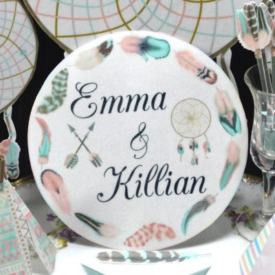 Wickstead's-Eat-Me-Edible-Images-Wild-Personalised-Boho-Cotton-Candy-Circles-(1)