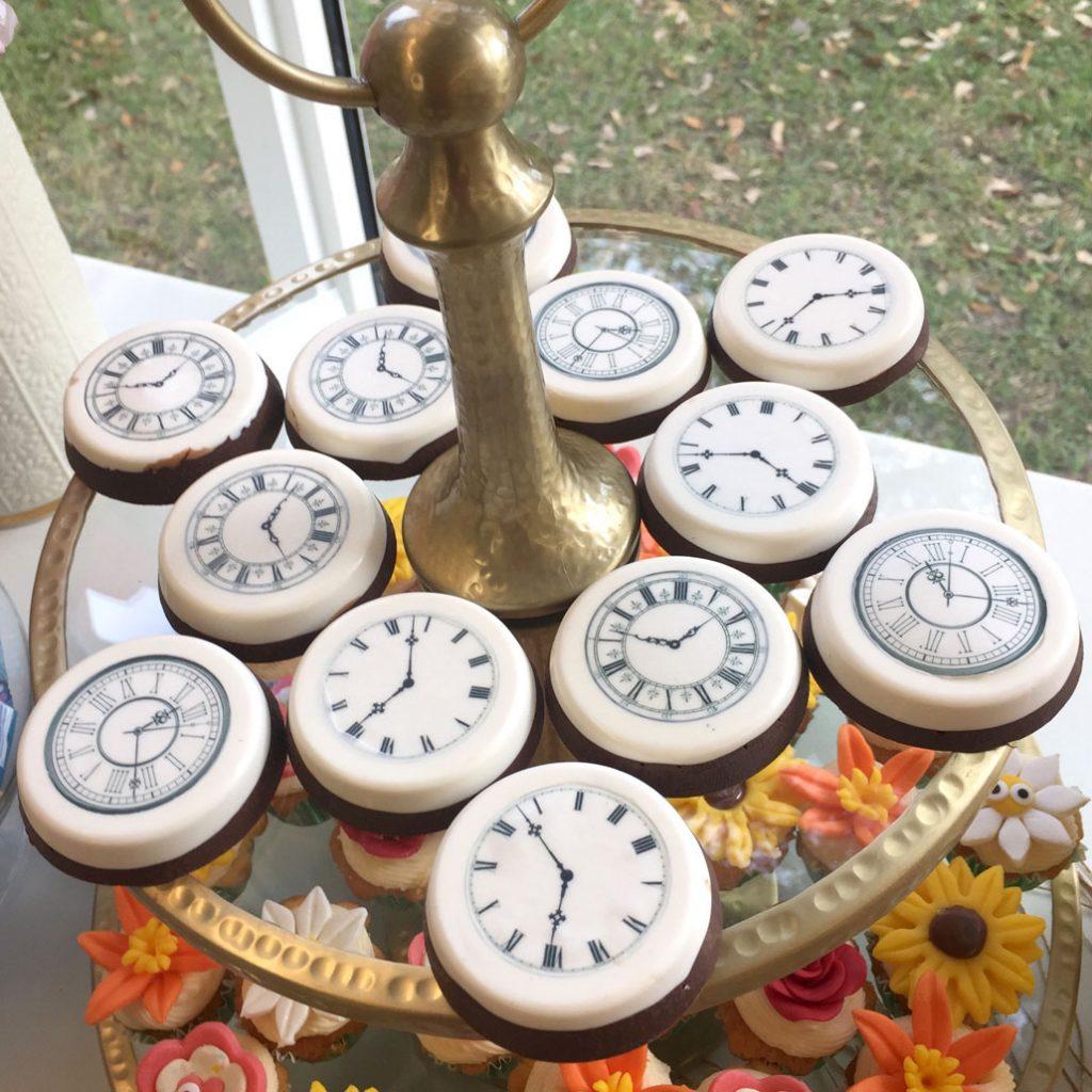 Wickstead's-Eat-Me-Edibles-Large Clocks