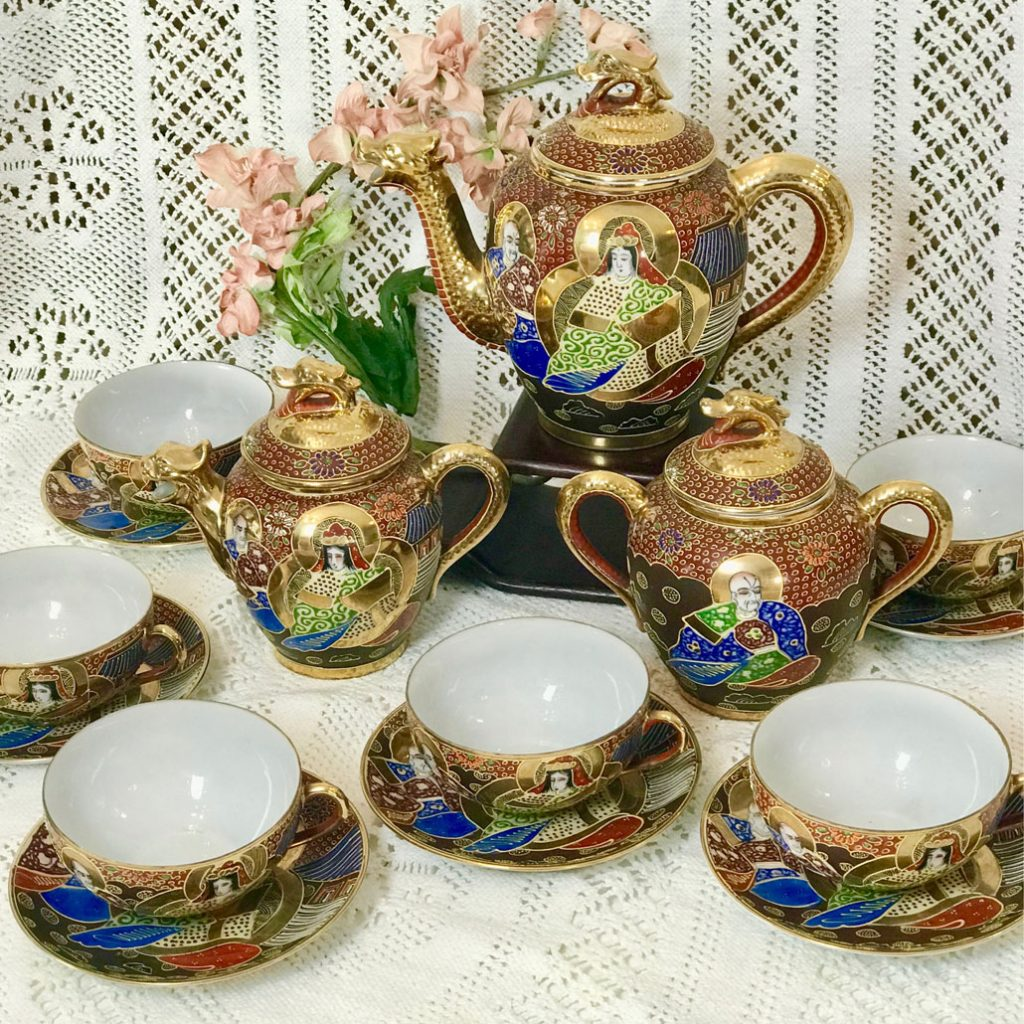 Wickstead's-Japanese-Red-Gold-Dragon-Moriage-Fine-Eggshell-Porcelain-Tea-Set-(4)