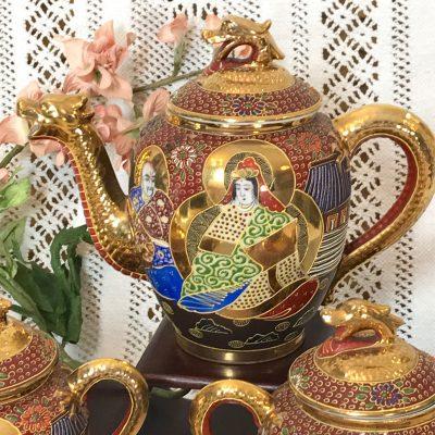 Wickstead's-Japanese-Red-Gold-Dragon-Moriage-Fine-Eggshell-Porcelain-Tea-Set-(5)