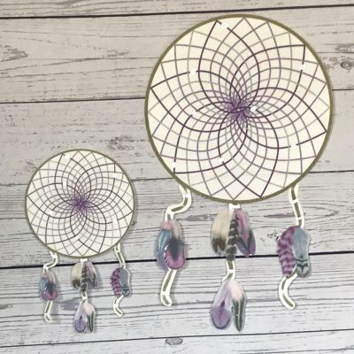 Wickstead's-Eat-Me-Edible-Wafer-Rice-Paper-Card-Purple-Passion-Boho-Dreamcatcher-7