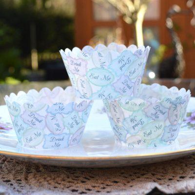 Wickstead's-Eat-Me-100%-Edible-Cupcake-Wrappers-Alice-in-Wonderland-Eat-Me-Drink-Me-(1)