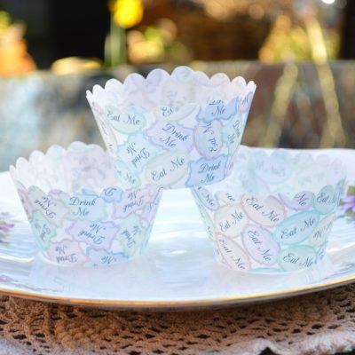 Wickstead's-Eat-Me-100%-Edible-Cupcake-Wrappers-Alice-in-Wonderland-Eat-Me-Drink-Me-(2)