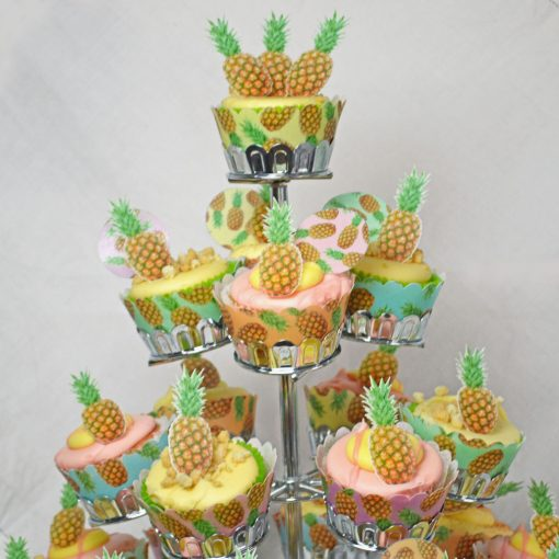 Wickstead's-Eat-Me-100%-Edible-Cupcake-Wrappers-Tropical-Pineapple-Fruit-Chintz-(2)