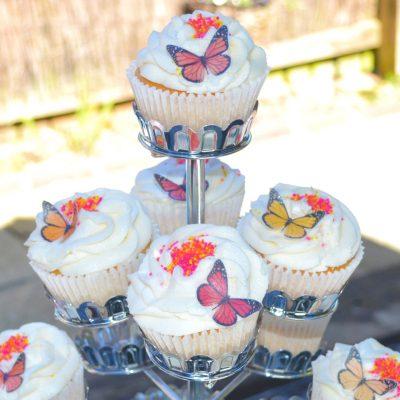 Wickstead's-Eat-Me-Edible-Sugar-Free-Vanilla-Wafer-Rice-Paper-3D-Butterflies–Ombre-Sunset-Butterfly-(3)