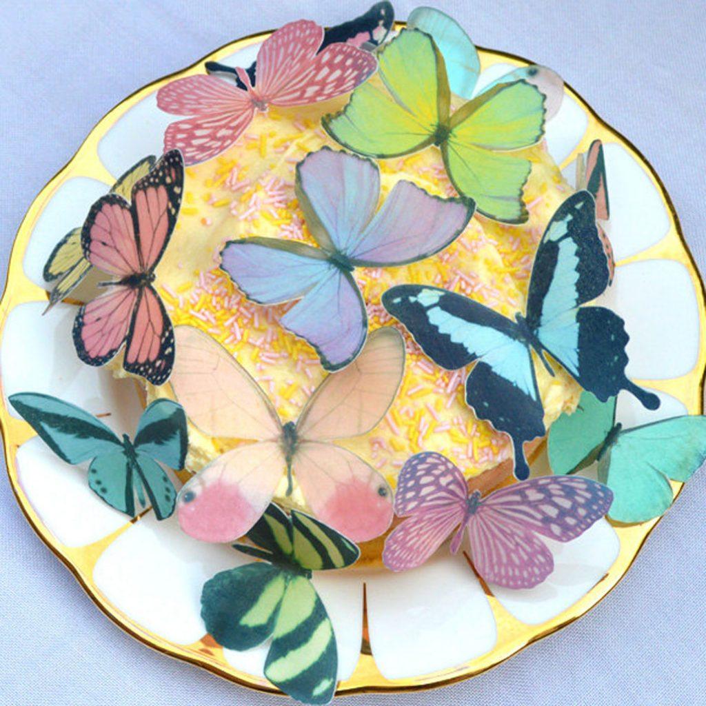 Wickstead's-Eat-Me-Edible-Sugar-Free-Vanilla-Wafer-Rice-Paper-3D-Butterflies-Pastel-Mix-Multicoloured-(4)