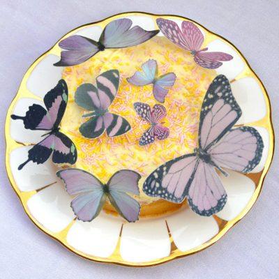 Wickstead's-Eat-Me-Edible-Sugar-Free-Vanilla-Wafer-Rice-Paper-3D-Butterflies-Purple-(1)
