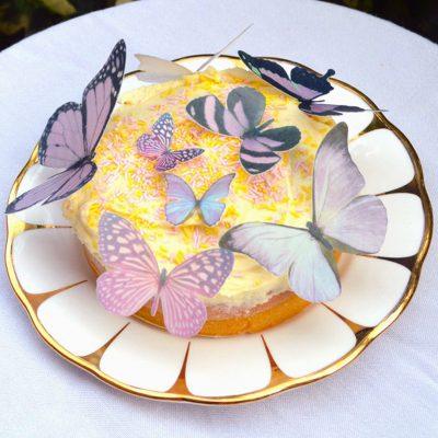 Wickstead's-Eat-Me-Edible-Sugar-Free-Vanilla-Wafer-Rice-Paper-3D-Butterflies-Purple-(2)