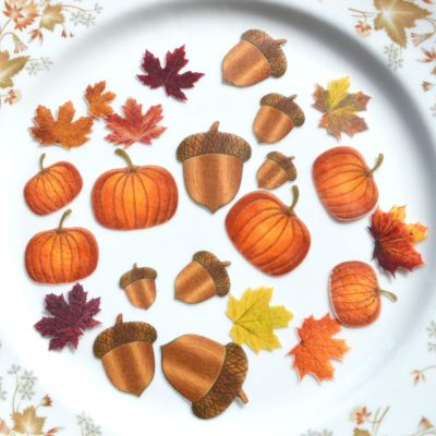 Wickstead's-Eat-Me-Edible-Sugar-Free-Vanilla-Wafer-Rice-Paper-Acorns,-Pumpkins-&-Mini-Maples-Double-Sided