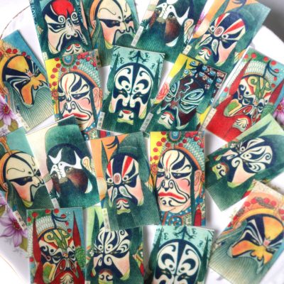 Wickstead's-Eat-Me-Edible-Sugar-Free-Vanilla-Wafer-Rice-Paper-Antique-Chinese-Opera-Masks-(2)