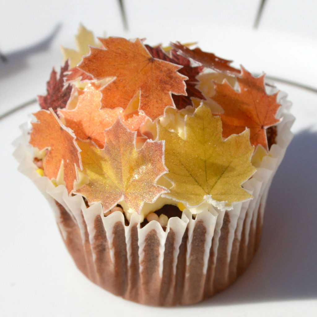Wickstead's-Eat-Me-Edible-Sugar-Free-Vanilla-Wafer-Rice-Paper-Autumn-Fall-Maple-Leaves-Leaf-(11)
