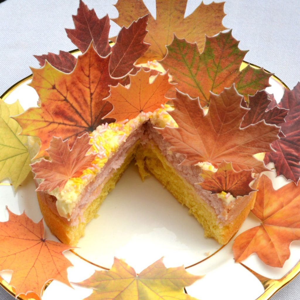 Wickstead's-Eat-Me-Edible-Sugar-Free-Vanilla-Wafer-Rice-Paper-Autumn-Fall-Maple-Leaves-Leaf-(3)