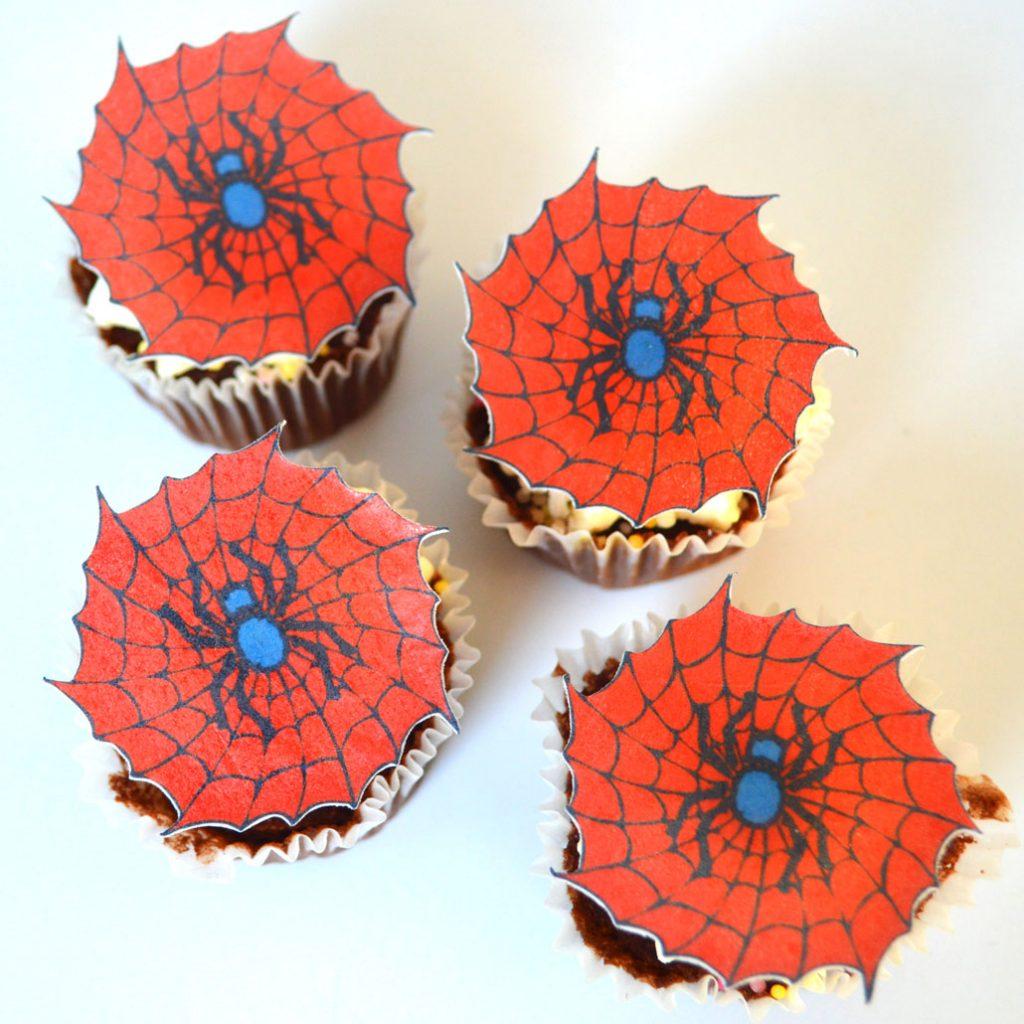 Wickstead's-Eat-Me-Edible-Sugar-Free-Vanilla-Wafer-Rice-Paper-Spiderman-Red-Spider-Cobwebs-Web-(1)