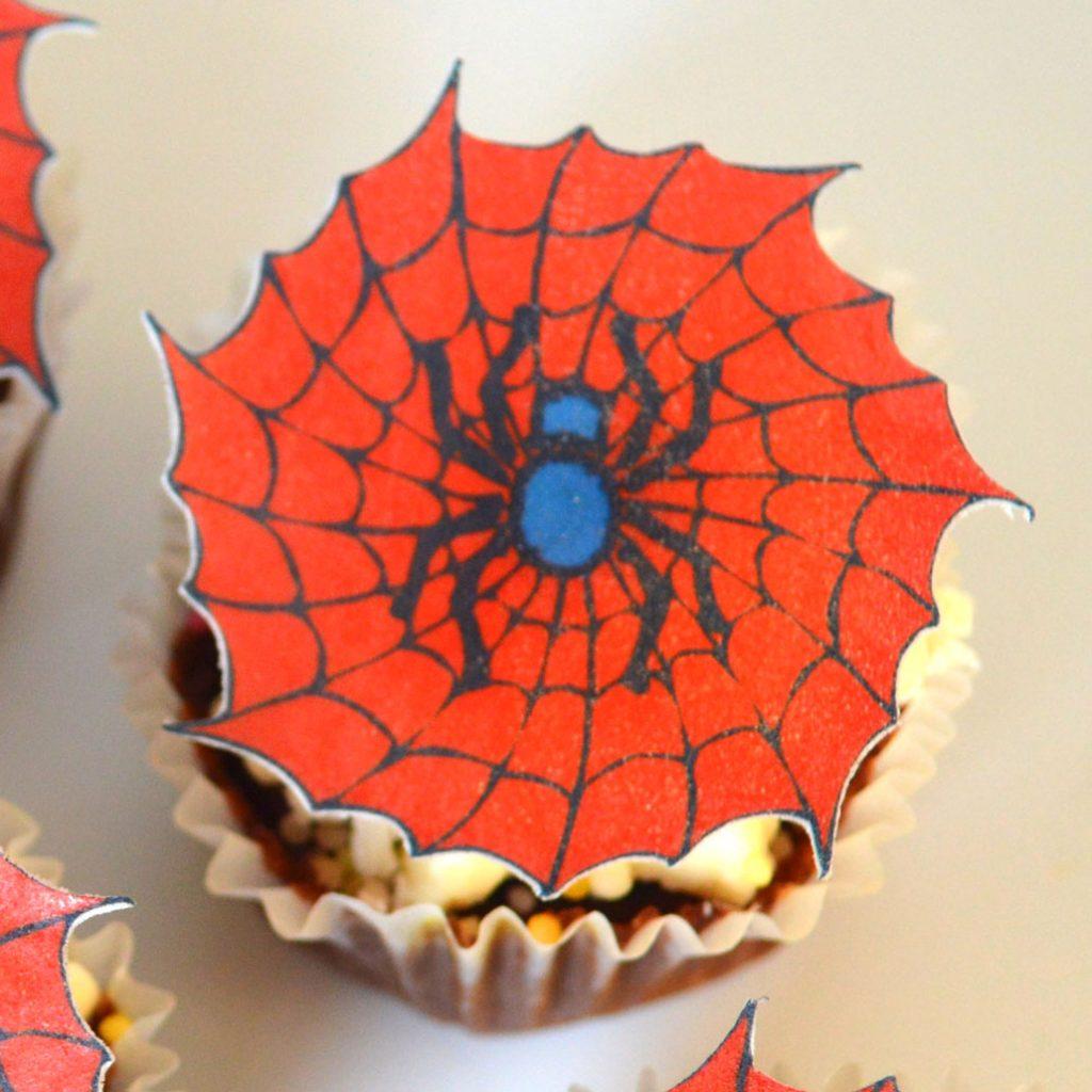Wickstead's-Eat-Me-Edible-Sugar-Free-Vanilla-Wafer-Rice-Paper-Spiderman-Red-Spider-Cobwebs-Web-(3)