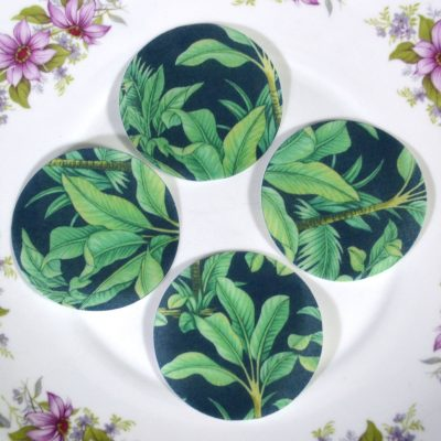 Wickstead's-Eat-Me-Edible-Sugar-Free-Vanilla-Wafer-Rice-Paper-Tropical-Jungle-Green-Leaves-Chintz-(1)