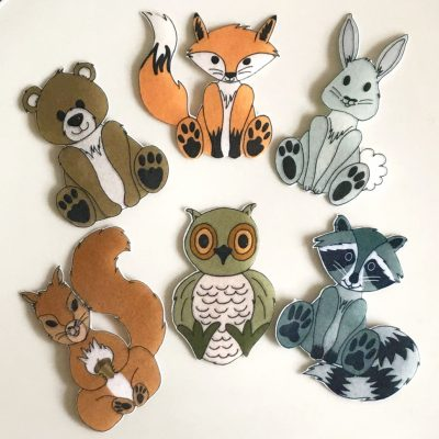 Wickstead's-Eat-Me-Edible-Wafer-Rice-Paper-Cute-Woodland-Animals
