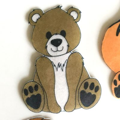 Wickstead's-Eat-Me-Edible-Wafer-Rice-Paper-Cute-Woodland-Animals-Bear