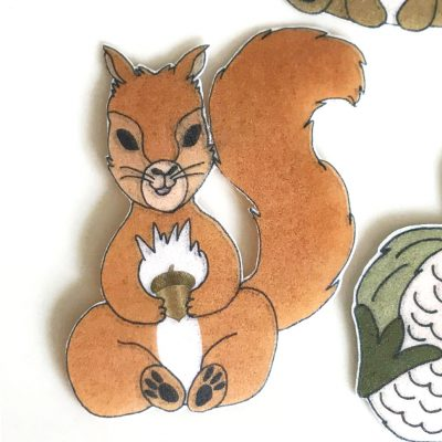Wickstead's-Eat-Me-Edible-Wafer-Rice-Paper-Cute-Woodland-Animals-Squirrel