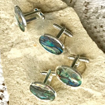 Wickstead's-Mr-Wickstead-Abalone-Paua-Shell-Set-Silver-T-Bar-Cufflinks-Colourful-Iridescent-Blue-Green-Rainbow-(7)
