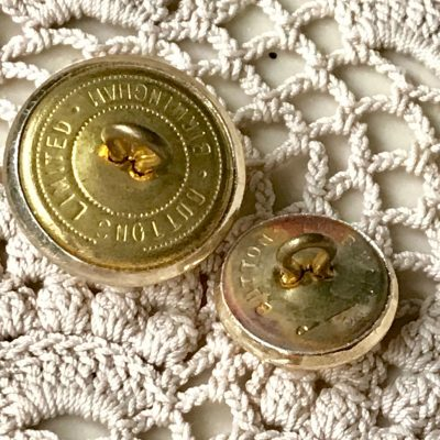 Wickstead's-Mr-Wickstead-Vintage-Military-Uniform-Buttons-Royal-Army-Ordnance-Corps-with-the-Queens-Crown-1953-(2)