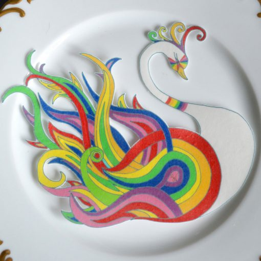 Wickstead's-Eat-Me-Edible-Sugar-Free-Vanilla-Wafer-Rice-Paper-Swan-Carnival-Rainbow-Swans-Pride-LGBT-(1)