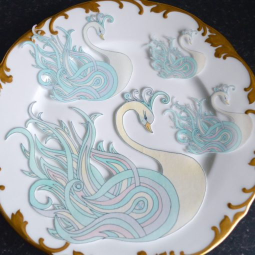 Wickstead's-Eat-Me-Edible-Sugar-Free-Vanilla-Wafer-Rice-Paper-Swan-Ice-Crystal-Swans-(6)