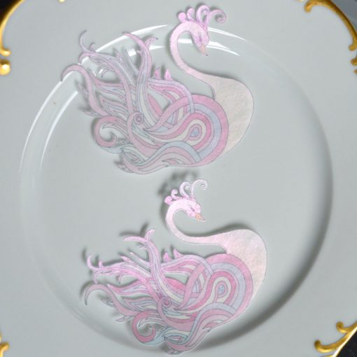 Wickstead's-Eat-Me-Edible-Sugar-Free-Vanilla-Wafer-Rice-Paper-Swan-Pink-Crystal-Swans-(3)