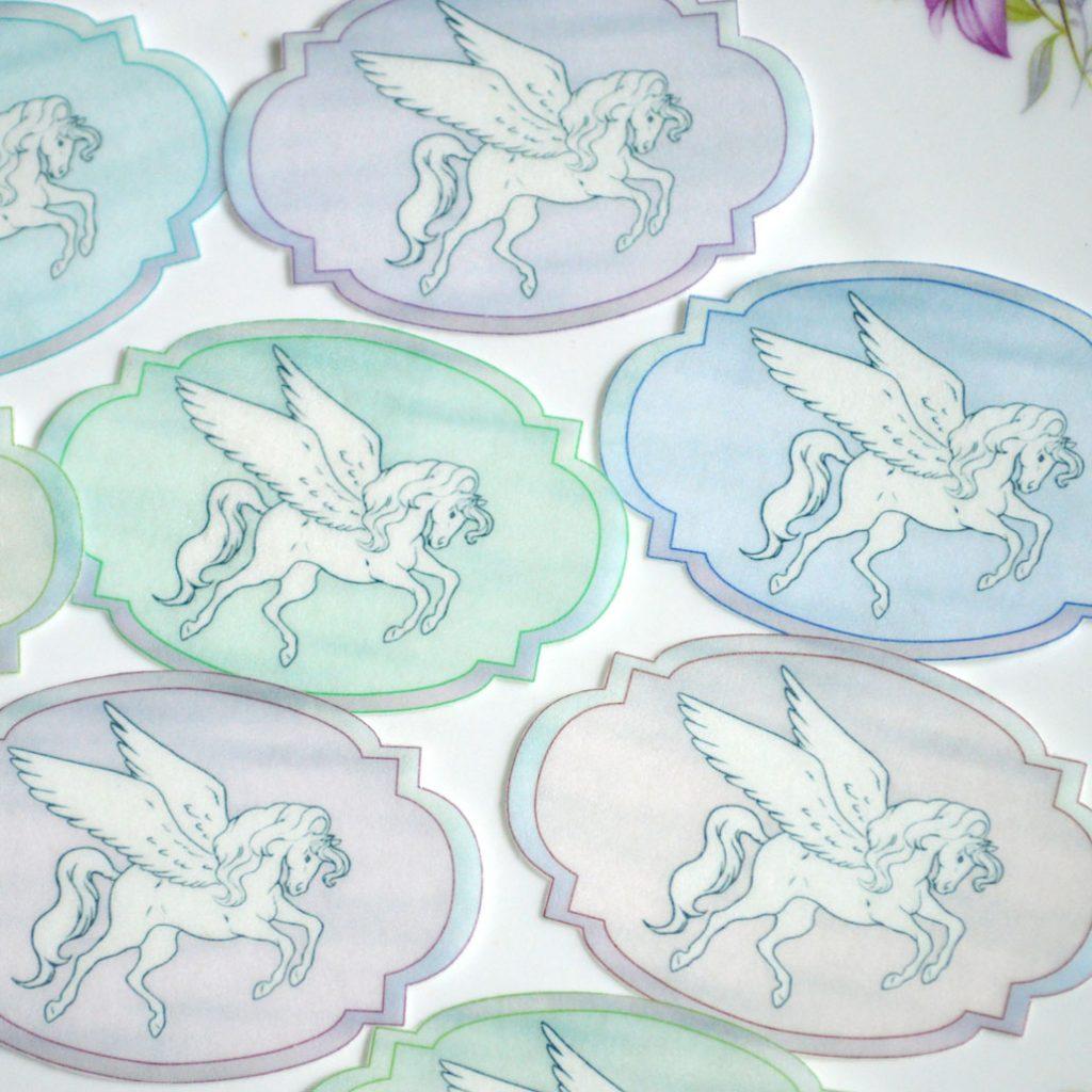 Wickstead's-Eat-Me-Edible-Sugar-Free-Vanilla-Wafer-Rice-Paper-Unicorns-&-Pegasus-Mythical-Grecian-(3)