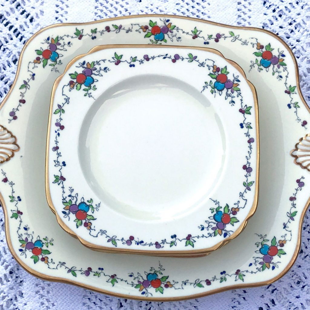 Wickstead's–Home-&-Living–Art-Deco-English-Tuscan-Hand-Painted-Plates-(8)