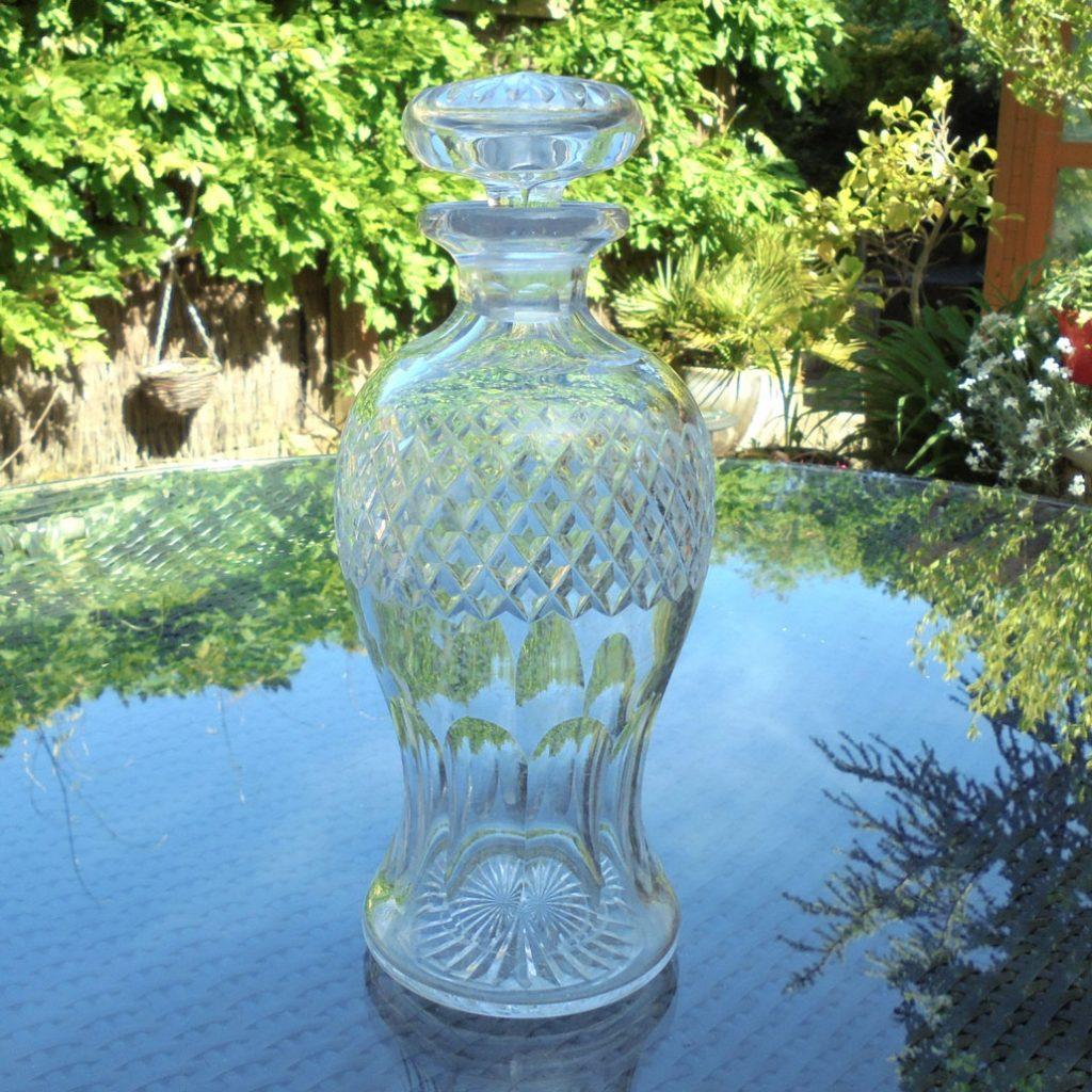 Wickstead's-Home-&-Living-Cut-Glass-Mushroom-Stopper-Decanter-(1)