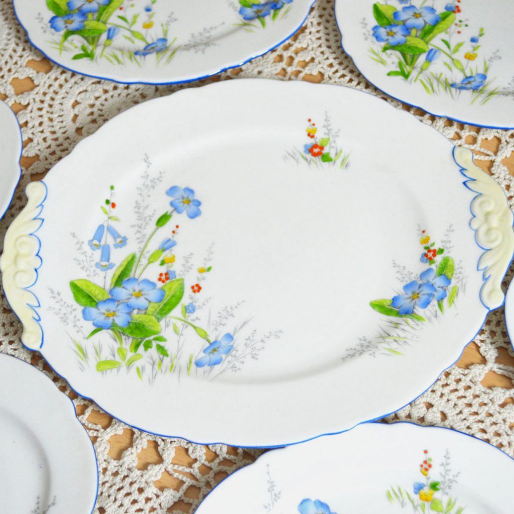 Wickstead's–Home-&-Living–Paragon-Blue-Primerose-Plates-(3)