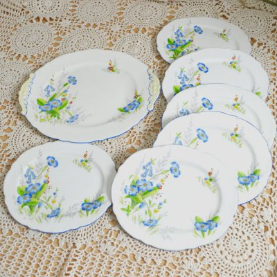 Wickstead's–Home-&-Living–Paragon-Blue-Primerose-Plates-(4)